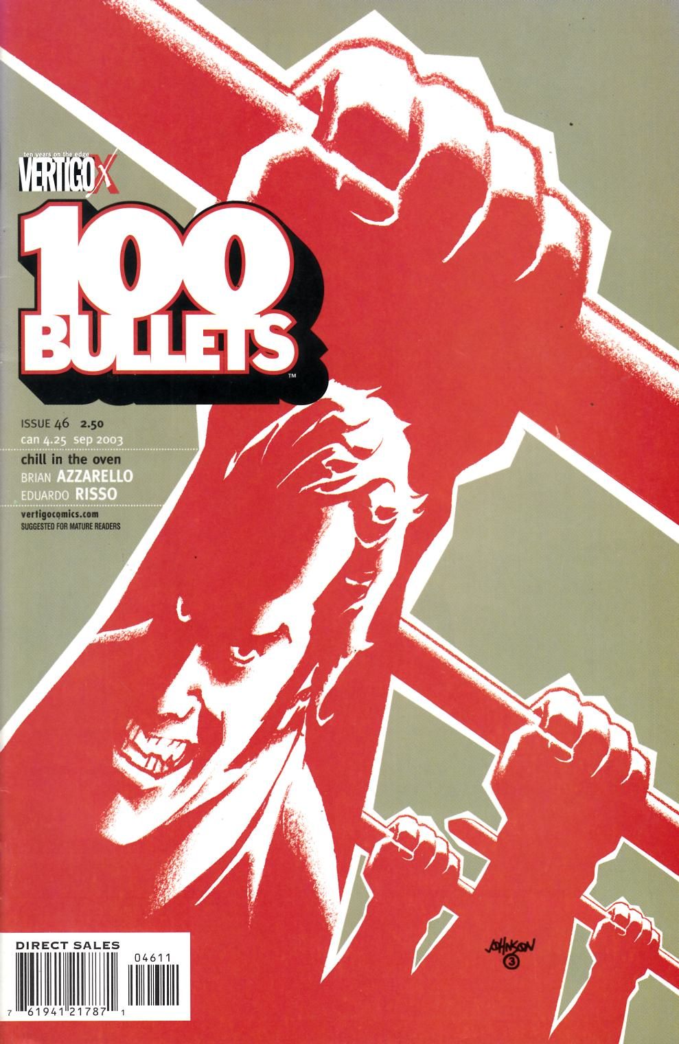 100 Bullets #46 Fine Plus (6.5) [DC Comic] LARGE