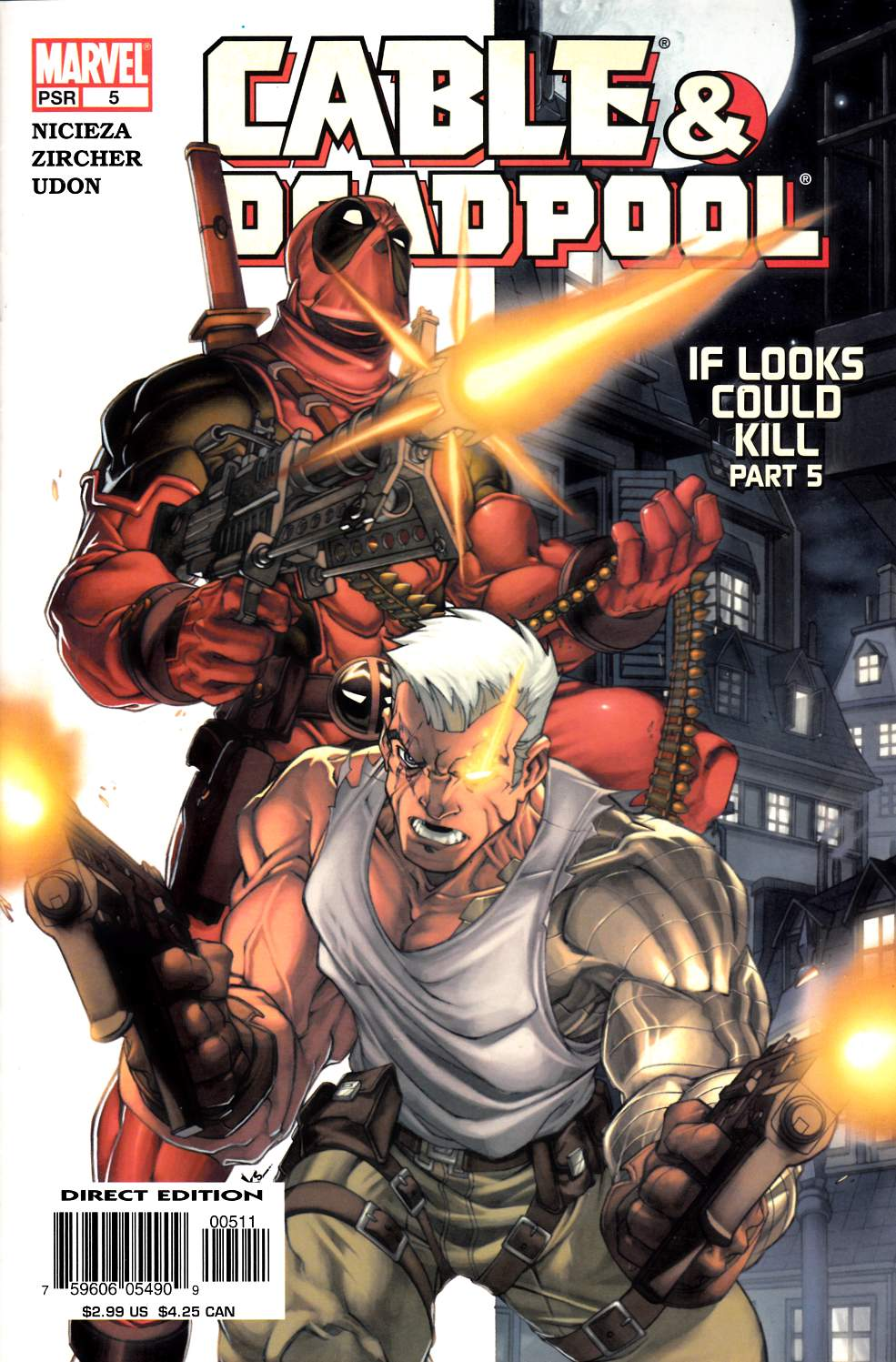 Cable & Deadpool #5 Very Fine (8.0) [Marvel Comic] LARGE