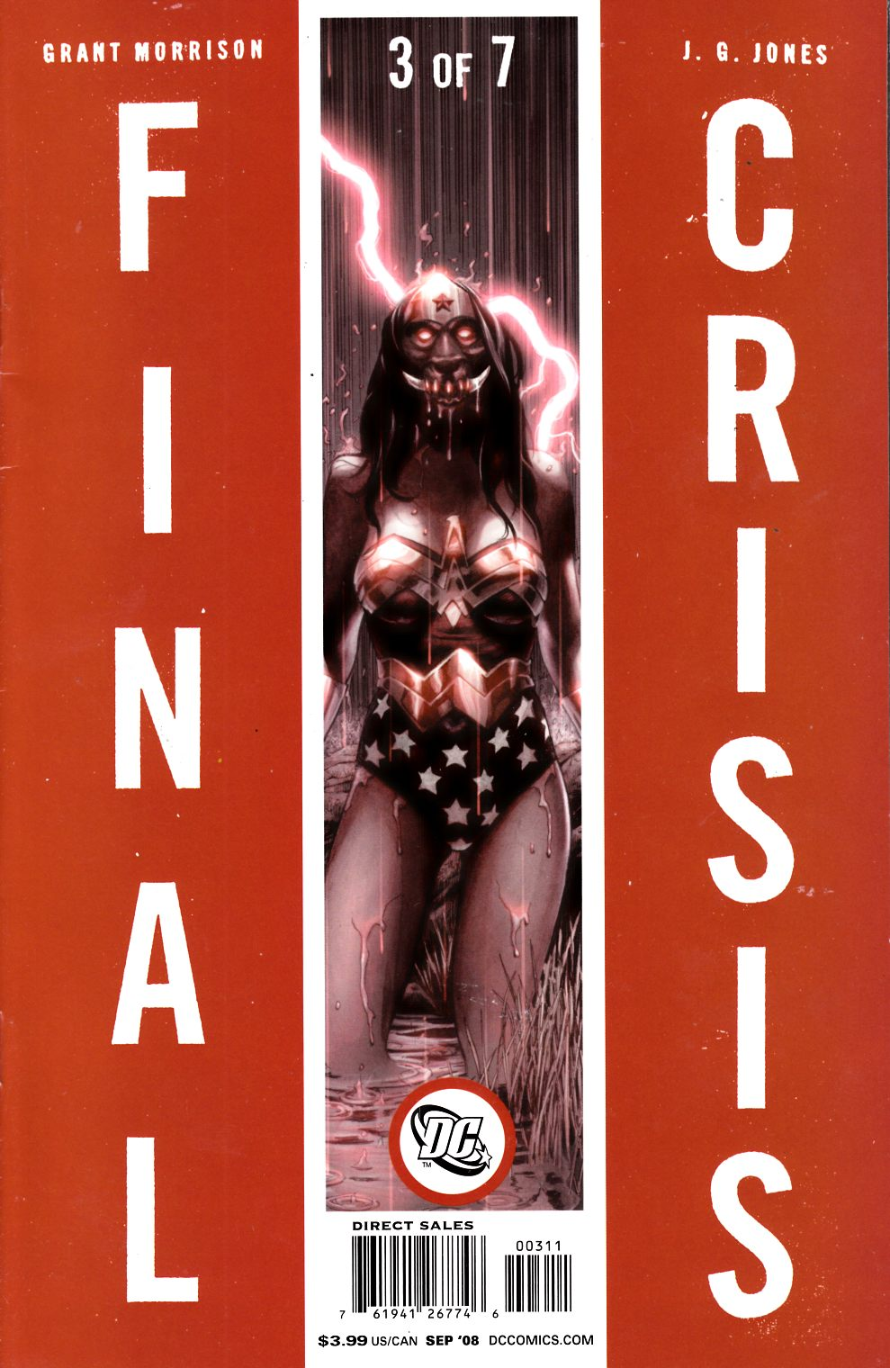 Final Crisis #3 Cover A Fine (6.0) [DC Comic] THUMBNAIL