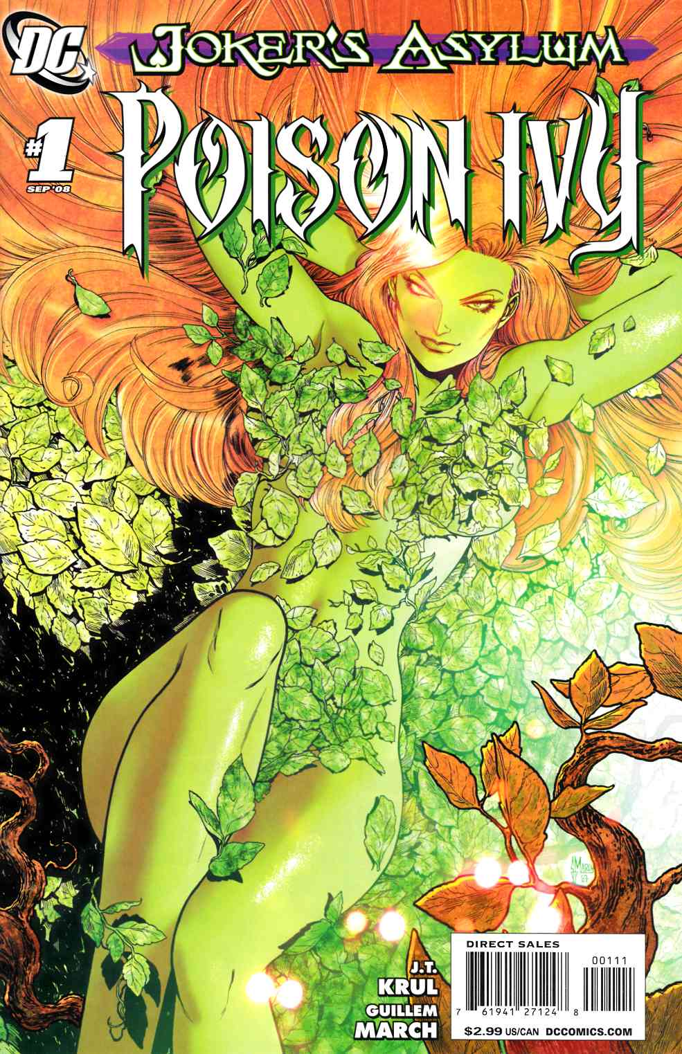 Jokers Asylum Poison Ivy #1 [DC Comic]_THUMBNAIL