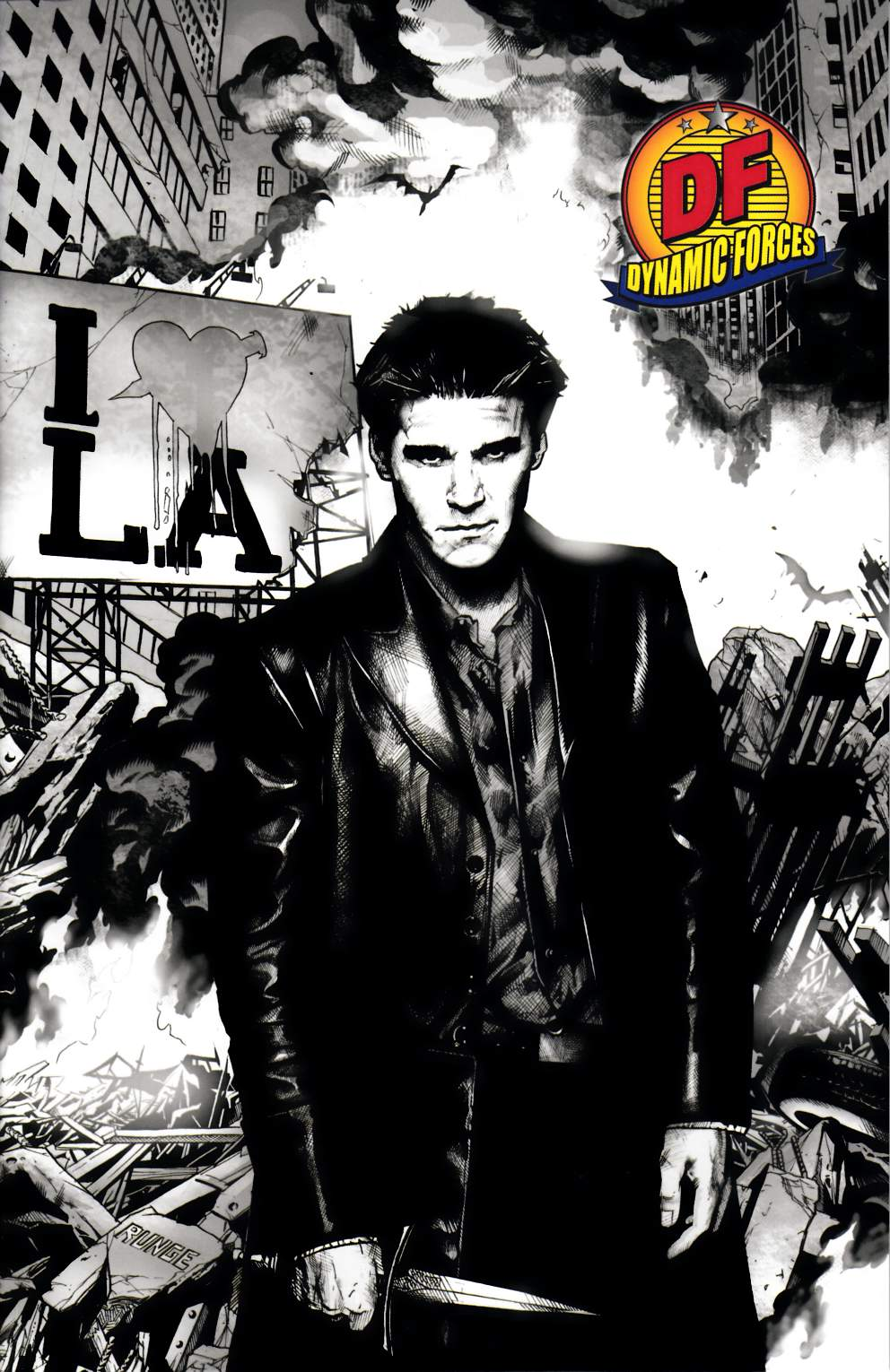 Angel After the Fall #9 DF Exclusive Near Mint (9.4) [IDW Comic] THUMBNAIL