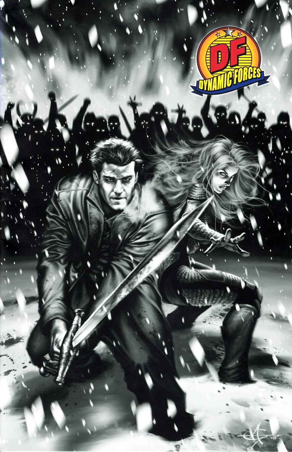 Angel After the Fall #10 DF Exclusive Cover Very Fine (8.0) [IDW Comic] THUMBNAIL