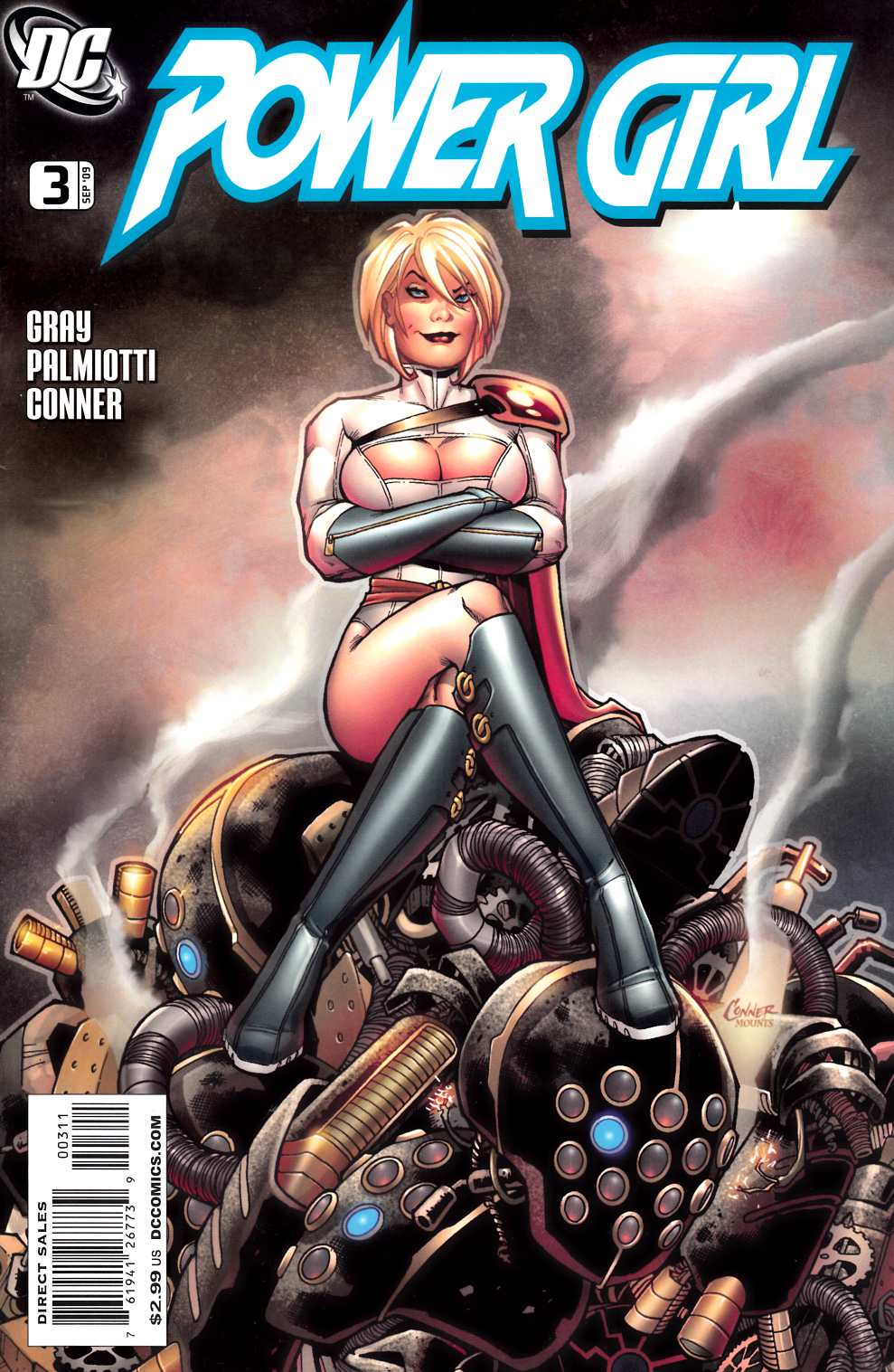 Power Girl #3 Near Mint Minus (9.2) [DC Comic]_THUMBNAIL