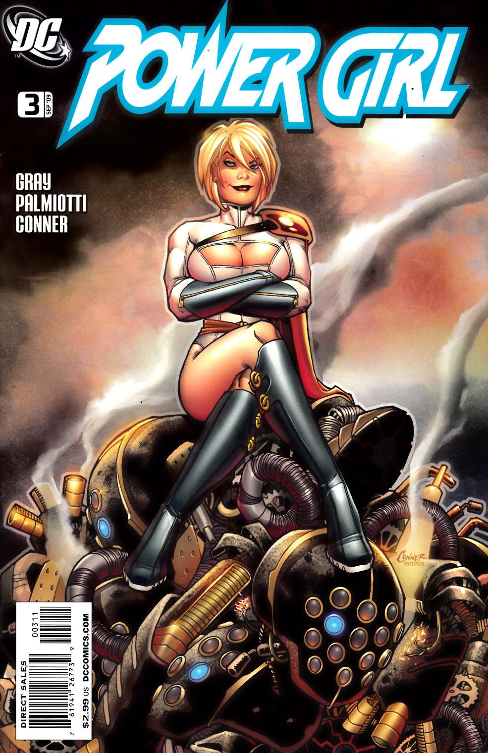 Power Girl #3 Very Fine (8.0) [DC Comic]_THUMBNAIL