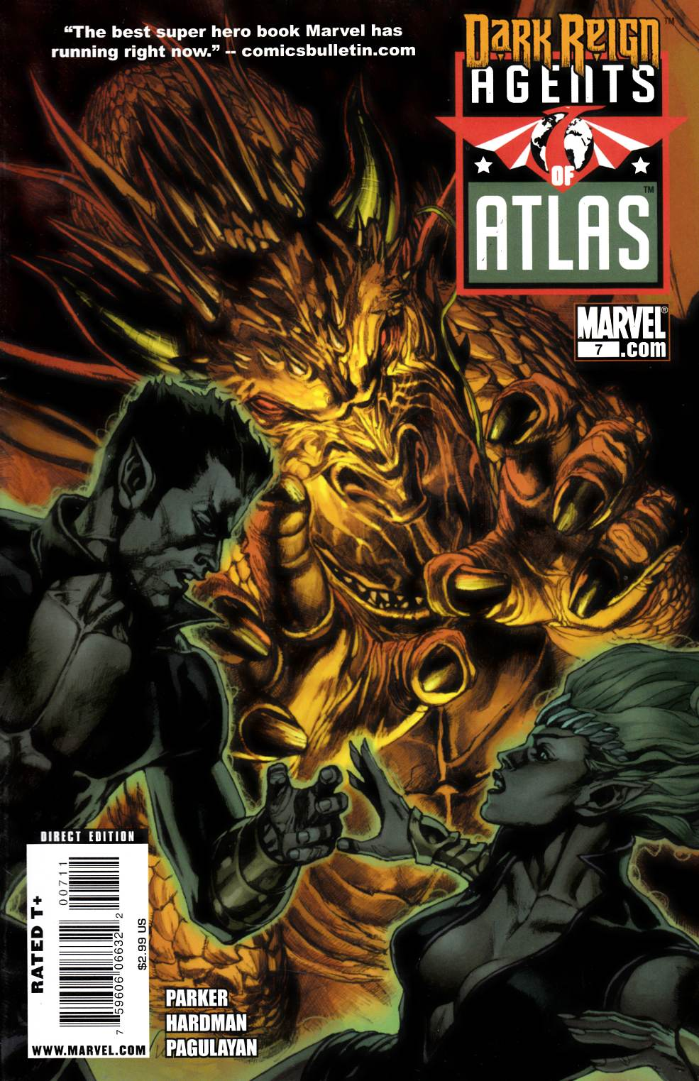 Agents of Atlas #7 Very Fine (8.0) [Marvel Comic] THUMBNAIL