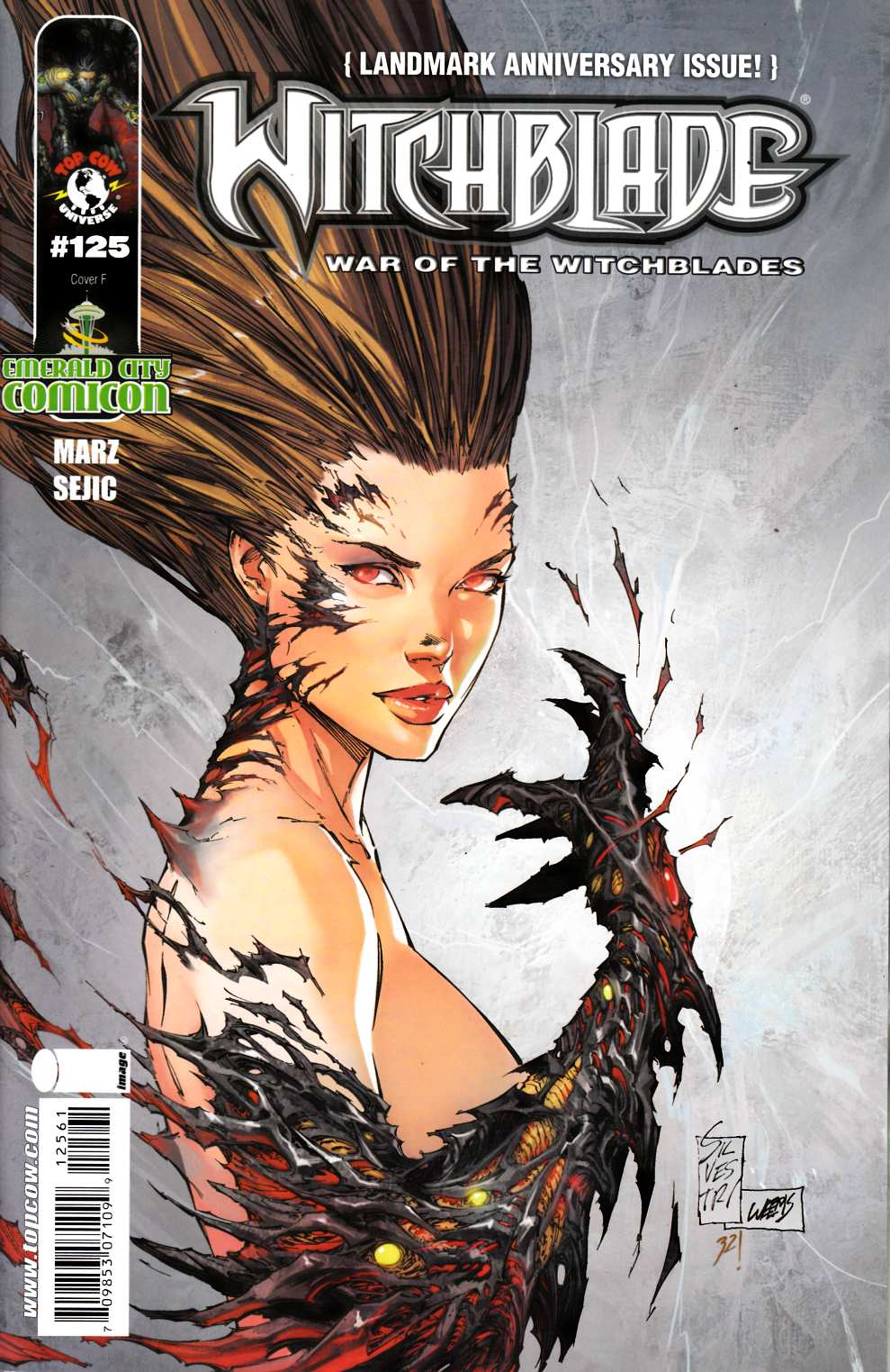 Witchblade #125 ECC Exclusive Very Good (4.0) [Image Comic] THUMBNAIL
