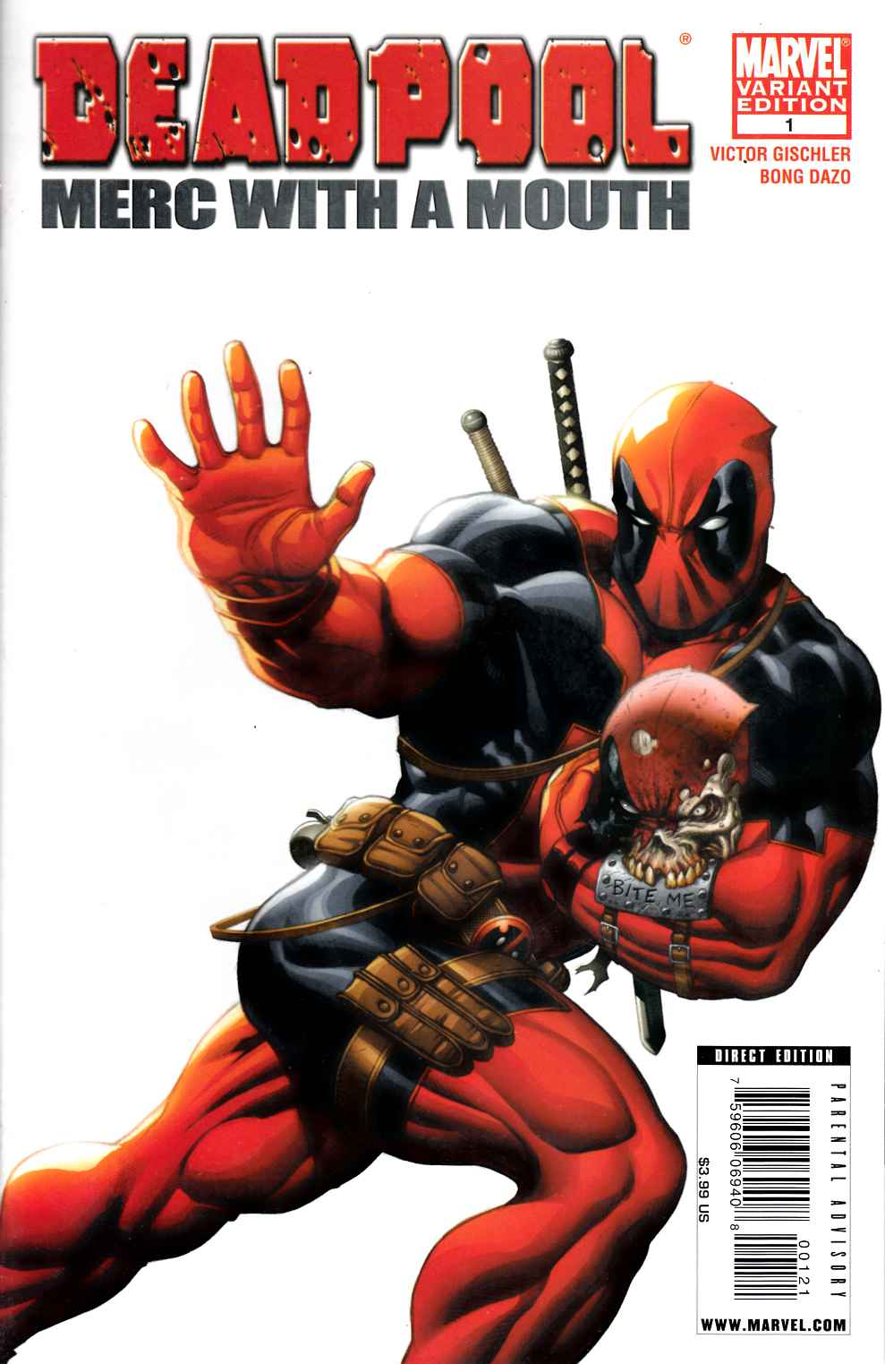 Deadpool Merc with a Mouth #1 McGuinness Variant Cover Very Fine Plus (8.5) [Marvel Comic] THUMBNAIL