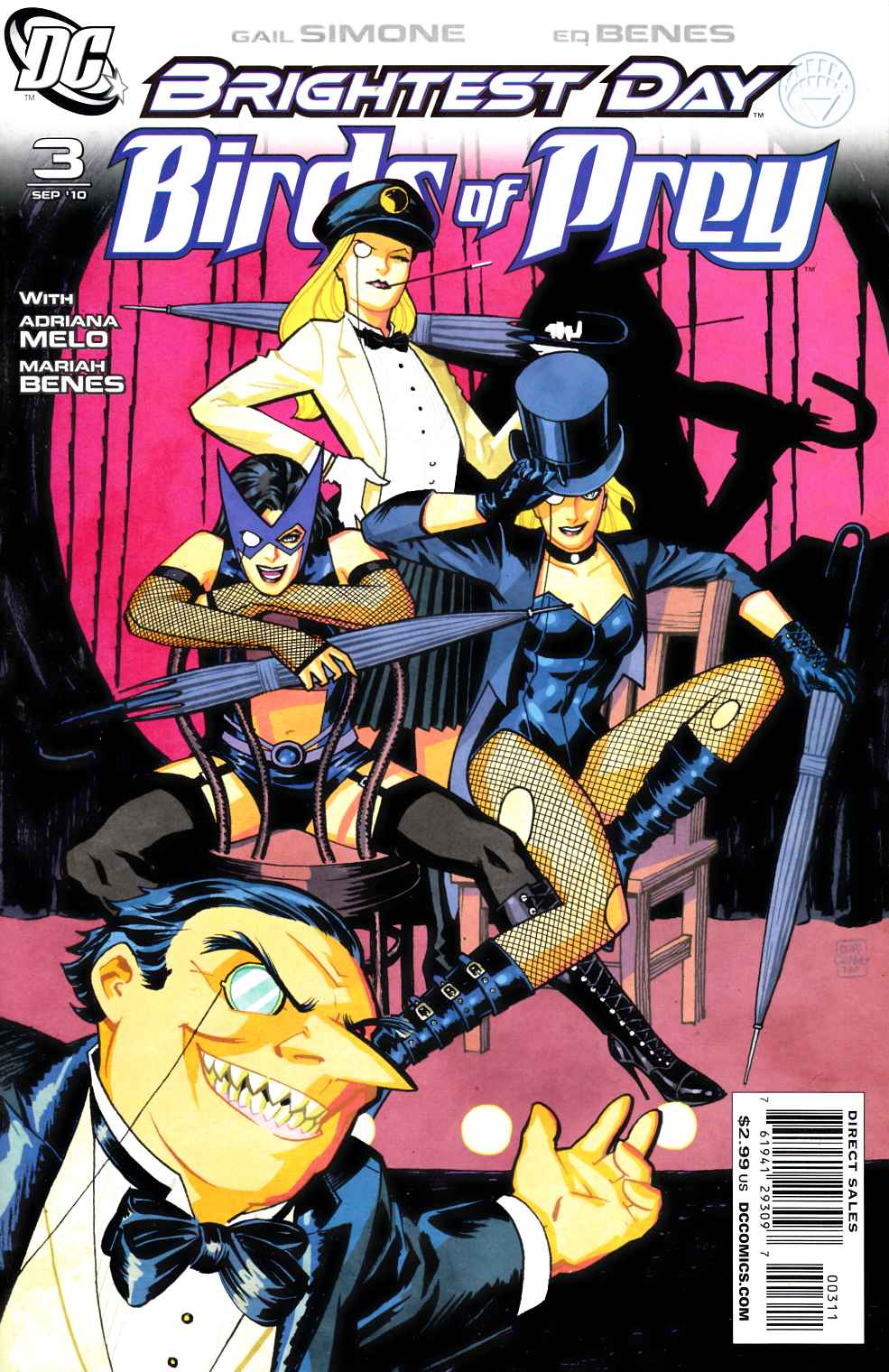 Birds of Prey #3 Near Mint (9.4) [DC Comic]