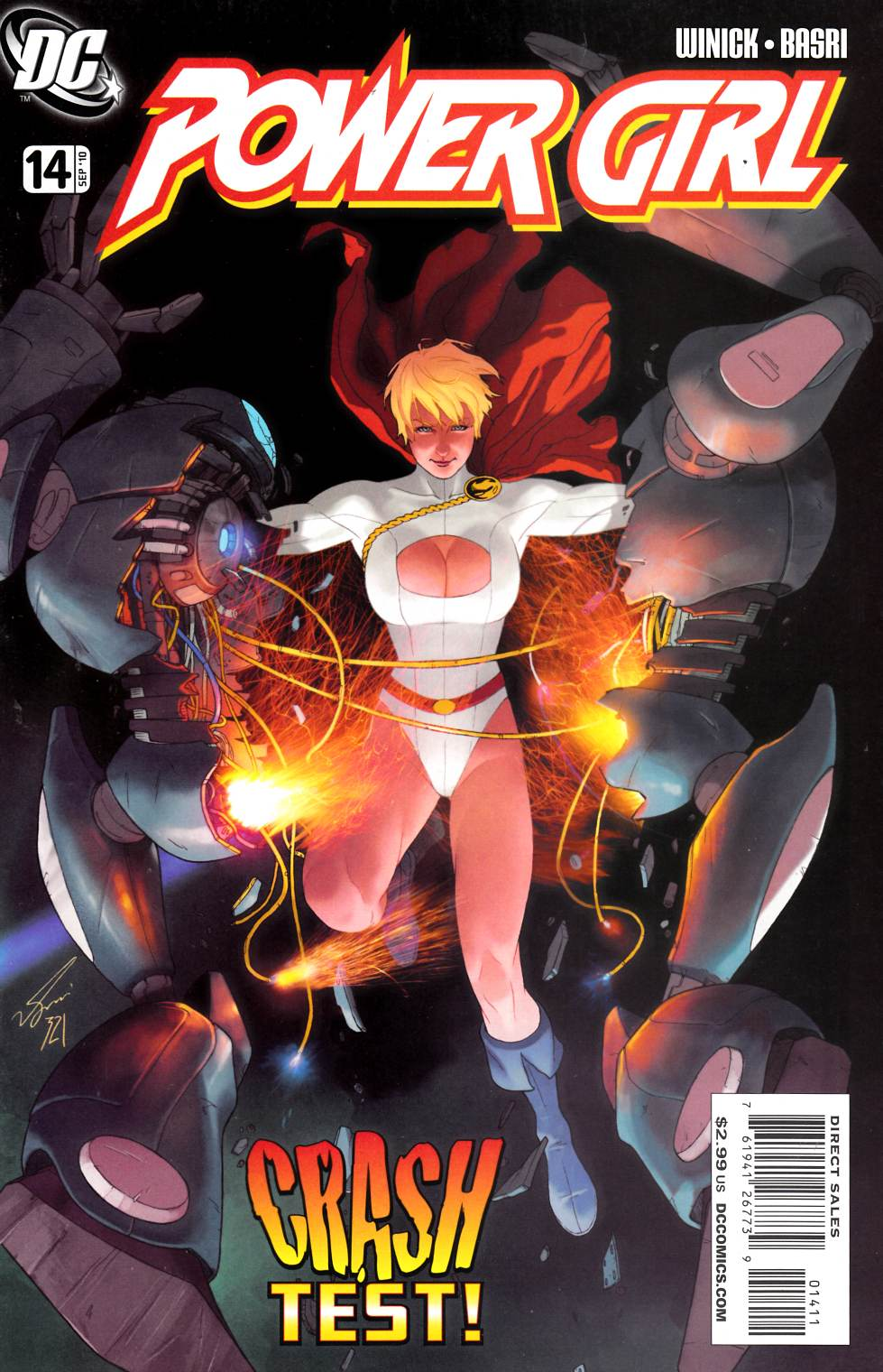 Power Girl #14 Near Mint Minus (9.2) [DC Comic]_THUMBNAIL
