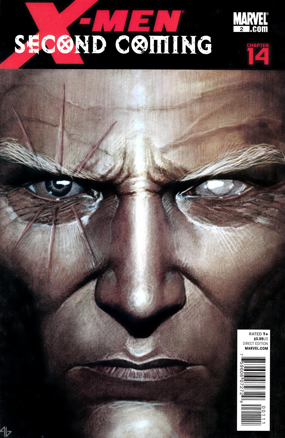 X-Men Second Coming #2 Near Mint Minus (9.2) [Marvel Comic] THUMBNAIL
