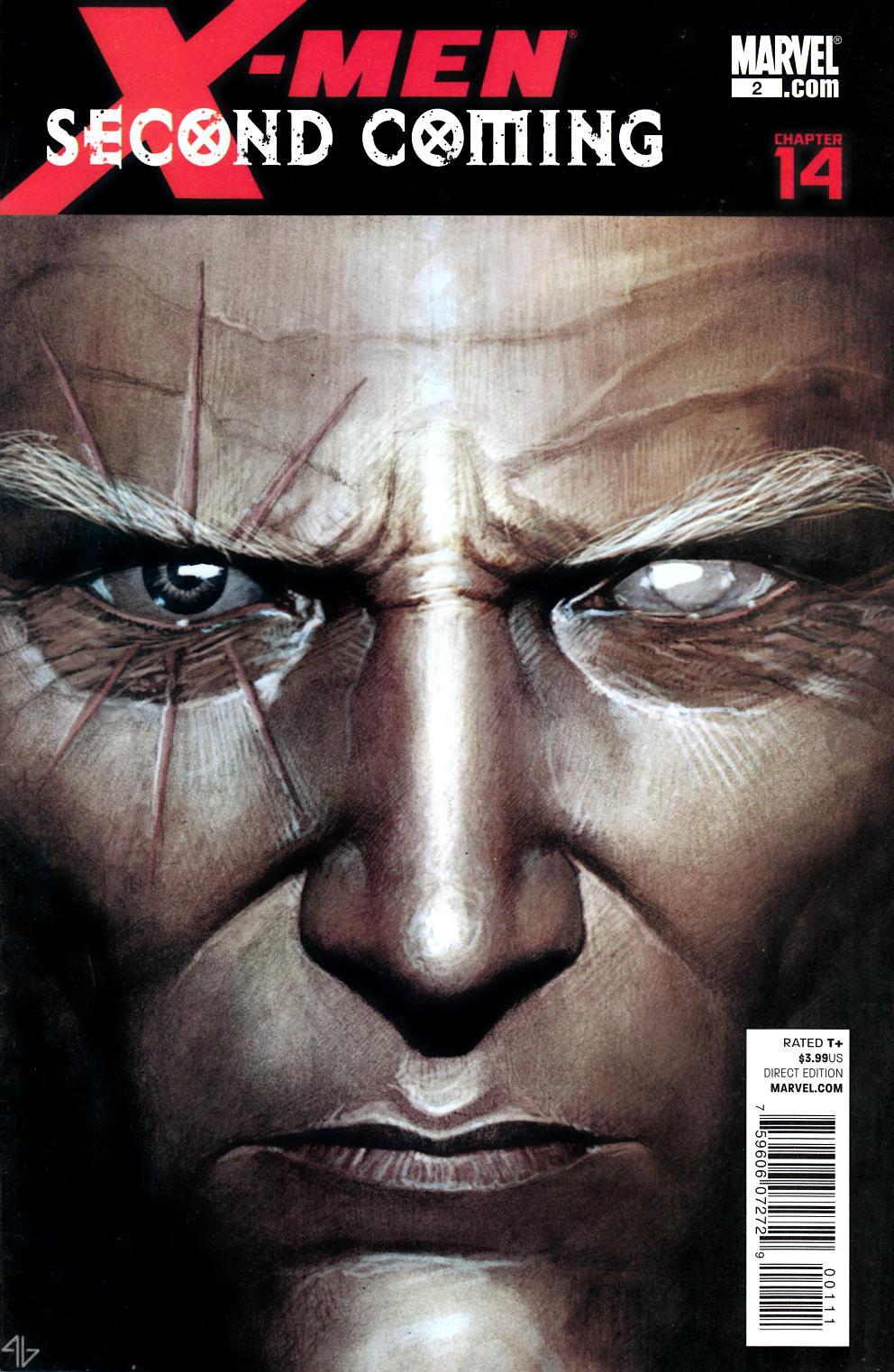 X-Men Second Coming #2 Very Fine (8.0) [Marvel Comic] THUMBNAIL