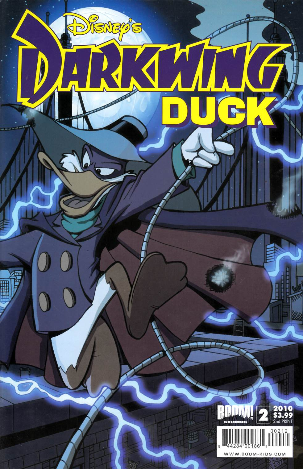 Darkwing Duck #2 Second Printing Near Mint (9.4) [Boom Comic]_THUMBNAIL