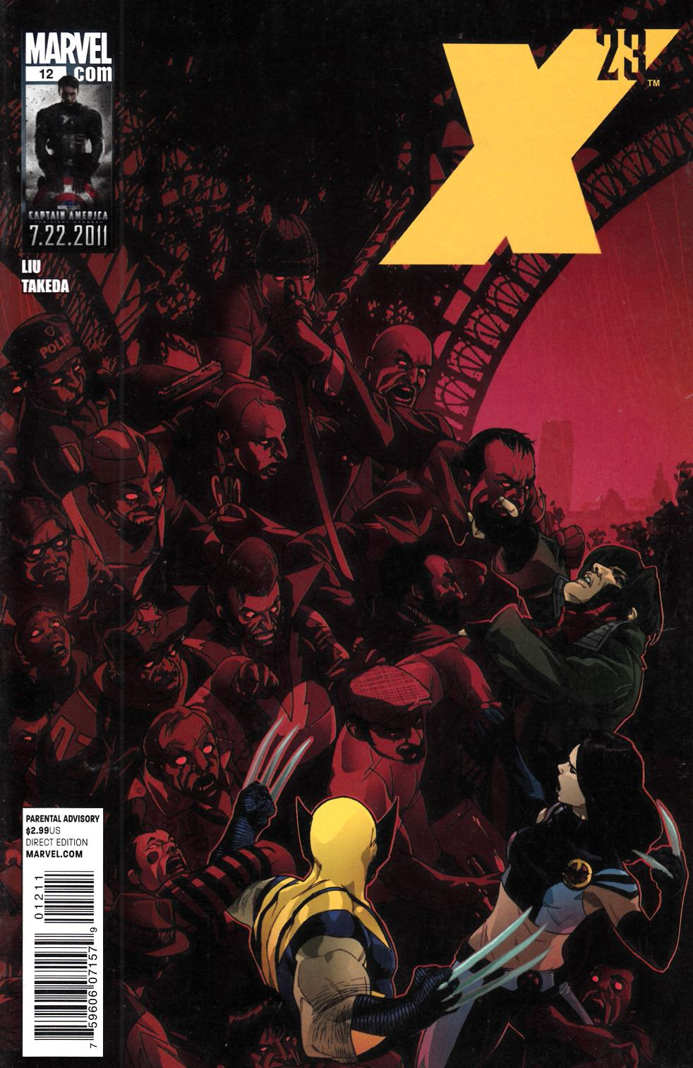 X-23 #12 Near Mint Minus (9.2) [Marvel Comic] THUMBNAIL