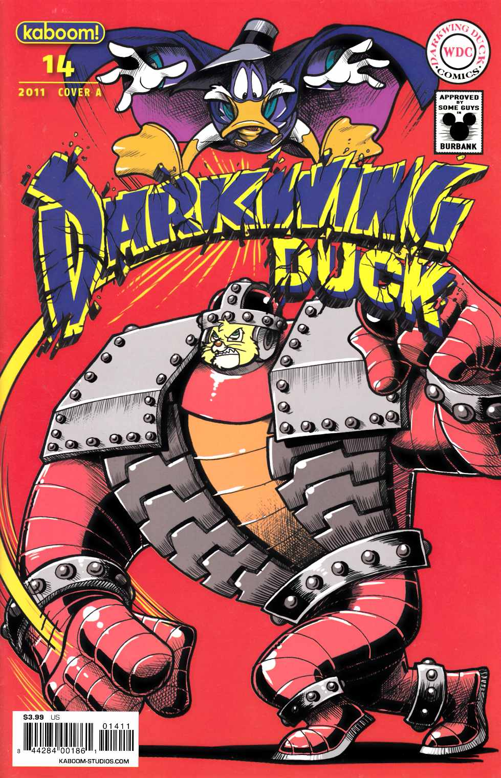 Darkwing Duck #14 Cover A Very Fine (8.0) [Boom Comic] THUMBNAIL