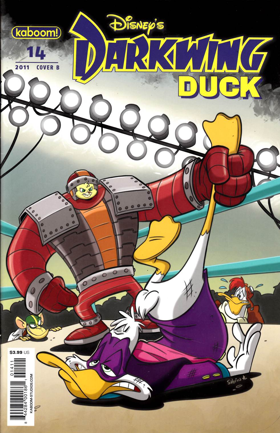 Darkwing Duck #14 Cover B Very Fine Plus (8.5) [Boom Comic] THUMBNAIL