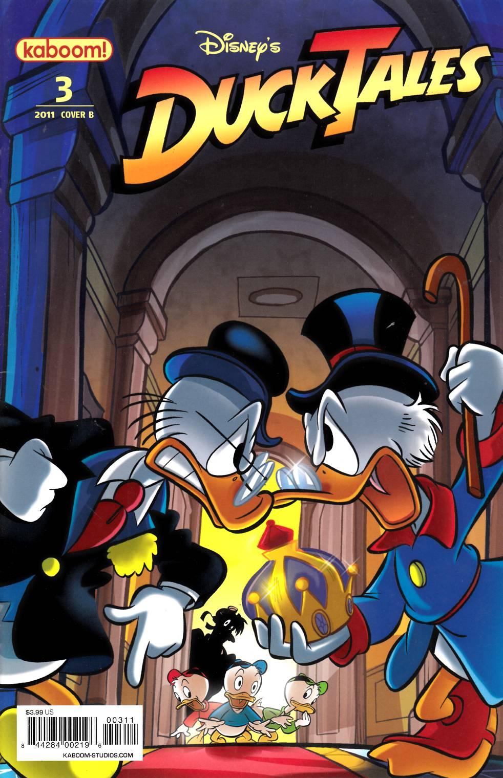 Ducktales #3 Cover B Very Fine (8.0) [Boom Comic] THUMBNAIL
