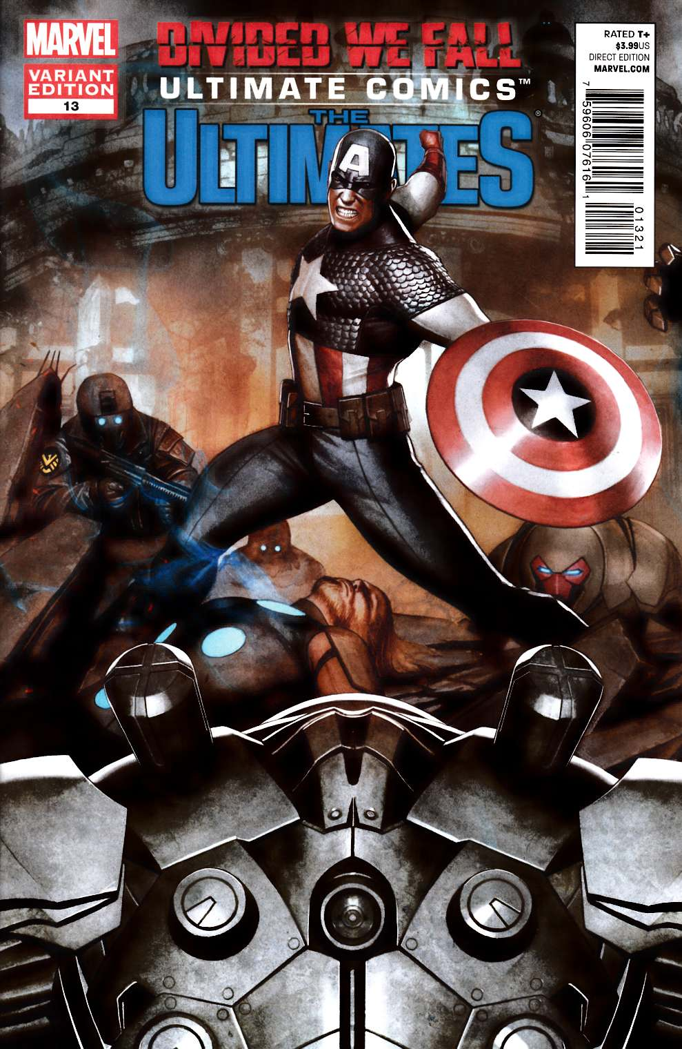 Ultimate Comics Ultimates #13 Granov Variant Cover [Comic] THUMBNAIL