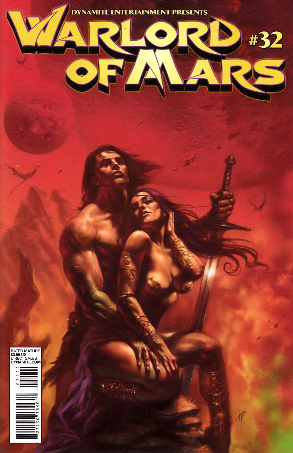 Warlord of Mars #32 Parrillo Cover- Near Mint (9.4) [Dynamite Comic] THUMBNAIL