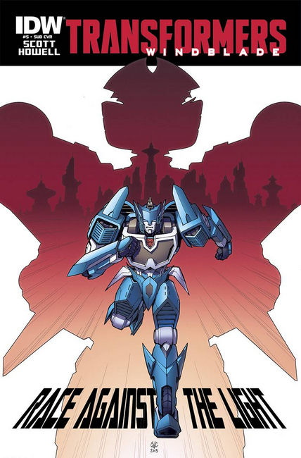 Transformers Windblade #5 Subscription Cover [IDW Comic] THUMBNAIL