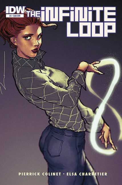 Infinite Loop #4 Subscription Cover [IDW Comic] THUMBNAIL