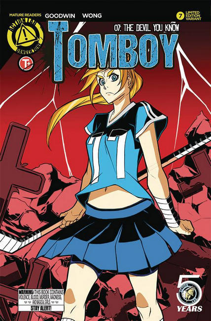Tomboy #7 Cover B [Action Lab Comic] LARGE