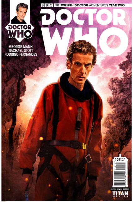 Doctor Who 12th Doctor Year Two #10 Cover B [Titan Comic] THUMBNAIL