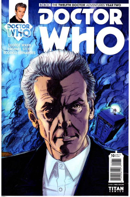 Doctor Who 12th Doctor Year Two #10 Cover D [Titan Comic] THUMBNAIL