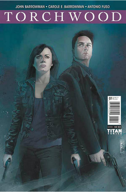 Torchwood #1 Cover E- Reis [Titan Comic] THUMBNAIL