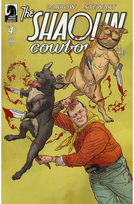 Shaolin Cowboy Who'll Stop the Reign #4 [Dark Horse Comic]