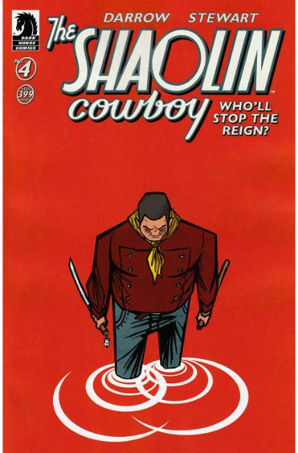 Shaolin Cowboy Who'll Stop the Reign #4 Tartakovsky Variant Cover [Dark Horse Comic] LARGE