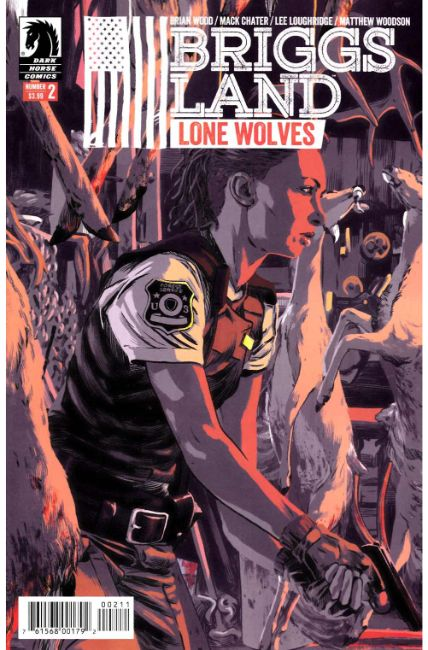 Briggs Land Lone Wolves #2 [Dark Horse Comic] THUMBNAIL