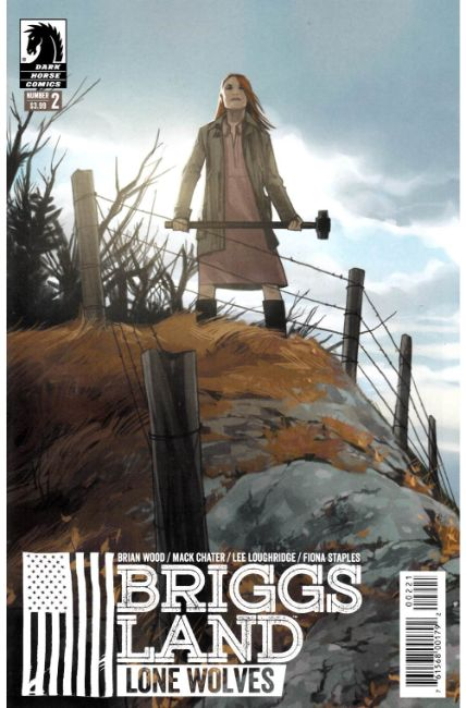 Briggs Land Lone Wolves #2 Staples Variant Cover [Dark Horse Comic] THUMBNAIL