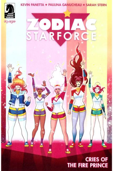 Zodiac Starforce Cries of Fire Prince #1 [Dark Horse Comic]