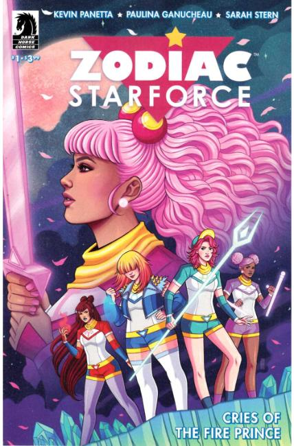 Zodiac Starforce Cries of Fire Prince #1 Bartel Variant Cover [Dark Horse Comic]_THUMBNAIL