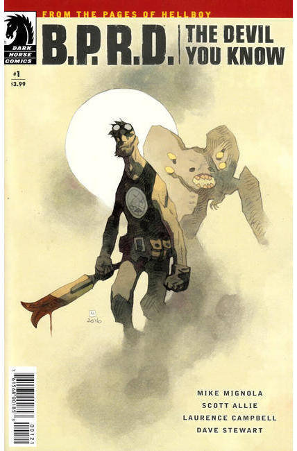 BPRD Devil You Know #1 Mignola Variant Cover [Dark Horse Comic] THUMBNAIL
