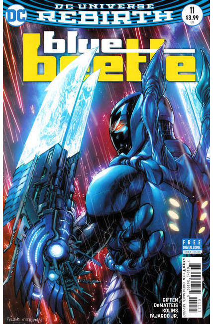 Blue Beetle #11 Kirkham Variant Cover [DC Comic]