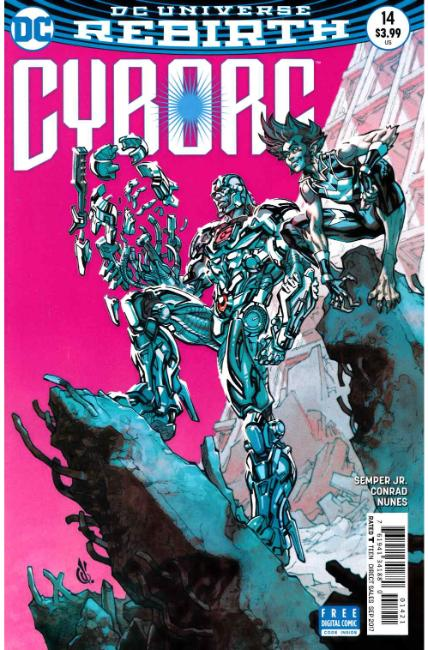 Cyborg #14 D'Anda Variant Cover [DC Comic]_LARGE