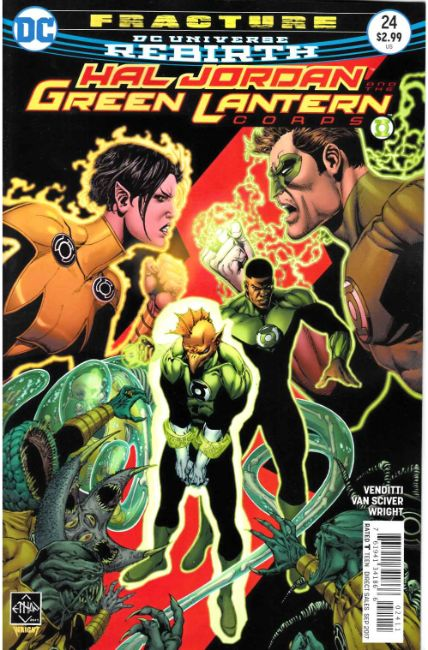 Hal Jordan and the Green Lantern Corps #24 [DC Comic] THUMBNAIL