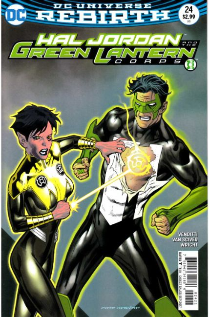 Hal Jordan and the Green Lantern Corps #24 Nowlan Variant Cover [DC Comic]_THUMBNAIL