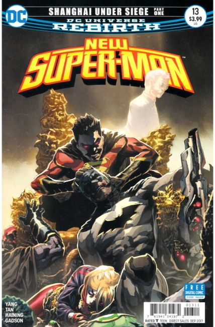 New Super Man #13 [DC Comic]