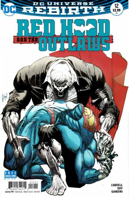 Red Hood and the Outlaws #12 March Variant Cover [DC Comic] THUMBNAIL