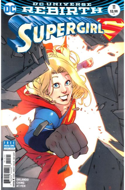 Supergirl #11 Bengal Variant Cover [DC Comic]_THUMBNAIL