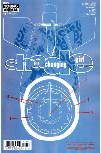 Shade the Changing Girl #10 [DC Comic] LARGE