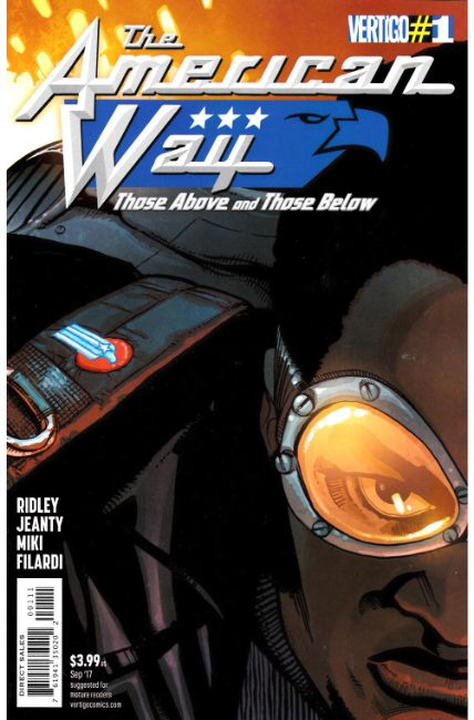 American Way Those Above and Below #1 [DC Comic]