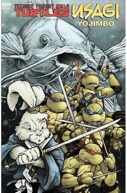 TMNT Usagi Yojimbo (One Shot) Cover RI [IDW Comic]