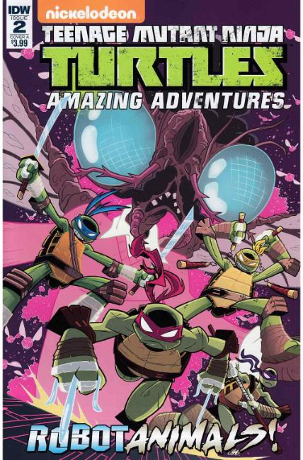 TMNT Amazing Adventures Robotanimals #2 Cover A [IDW Comic]