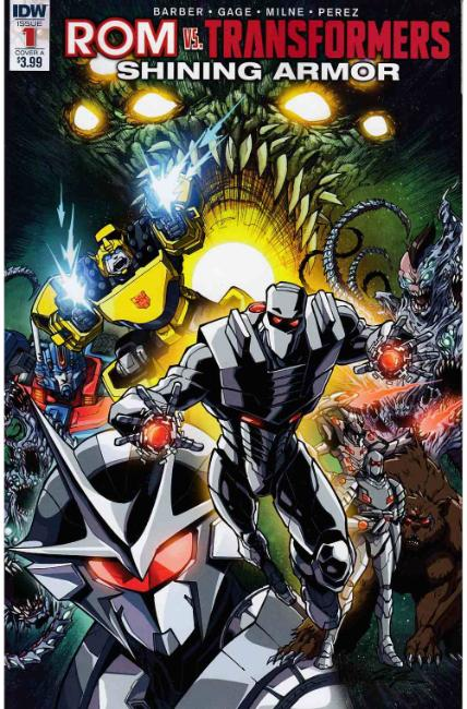Rom vs Transformers Shining Armor #1 Cover A [IDW Comic] THUMBNAIL