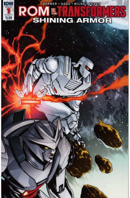 Rom vs Transformers Shining Armor #1 Cover C [IDW Comic] THUMBNAIL