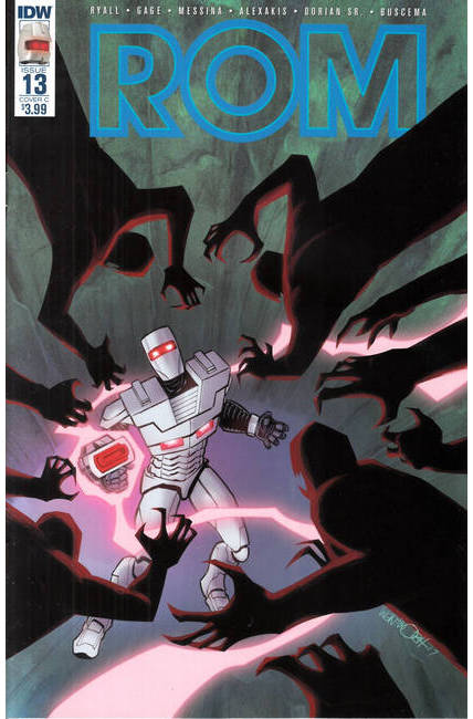 Rom #13 Cover C [IDW Comic] THUMBNAIL