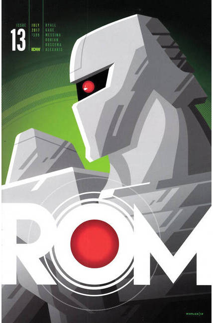 Rom #13 Cover D [IDW Comic] THUMBNAIL
